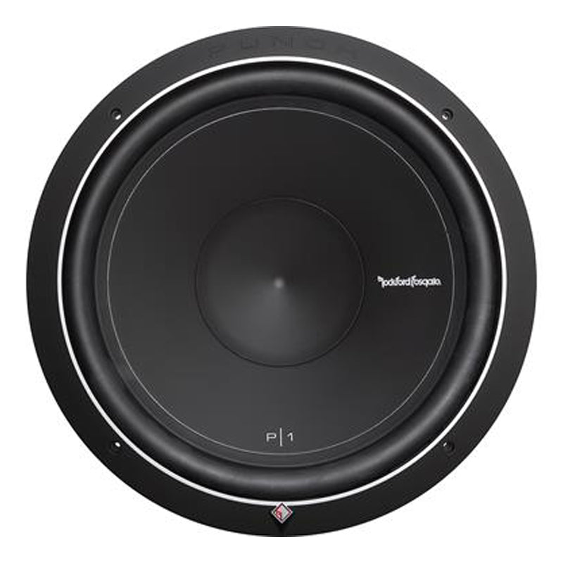 "Rockford Fosgate Punch P1S2-15 500W Max (250W RMS) 15"" Punch P1 Series Single 2-Ohm Car Subwoofer"