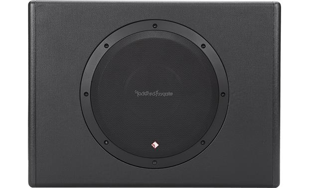 "Rockford Fosgate Punch P300-10 Single 10"" subwoofer enclosure with 300-watt amp"