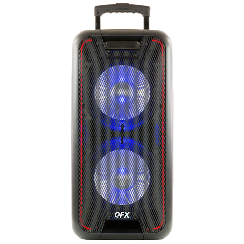 "QFX PBX-100 Dual 10"" Portable Party Speaker"