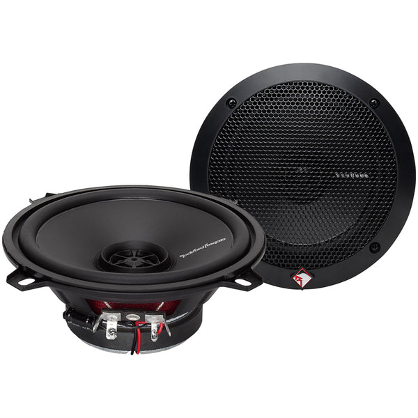 "Rockford Fosgate Prime R1525X2 160W Peak (80W RMS) 5-1/4"" 2-Way PRIME Series Coaxial Car Speakers"