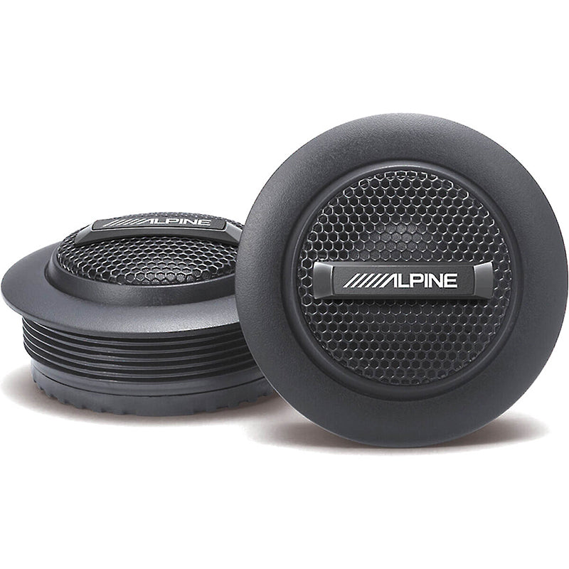 "Alpine S-S10TW S-Series 1"" silk dome tweeters"