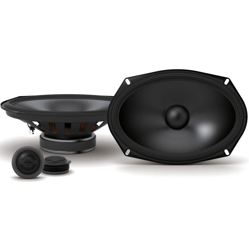 "Alpine S-S69C 520W Max (170W RMS) 6"" x 9"" Type-S Series 2-Way Component Car Speakers"