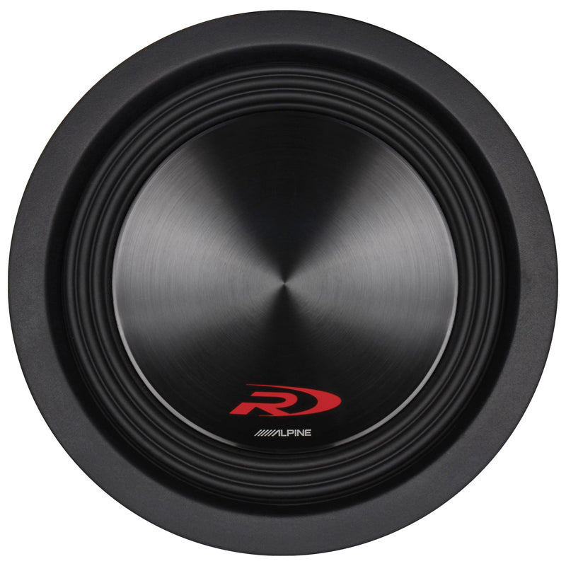"Alpine Type-R SWR-8D4 1000W Peak 8"" Type-R Series Dual 4 ohm High Performance Subwoofer"