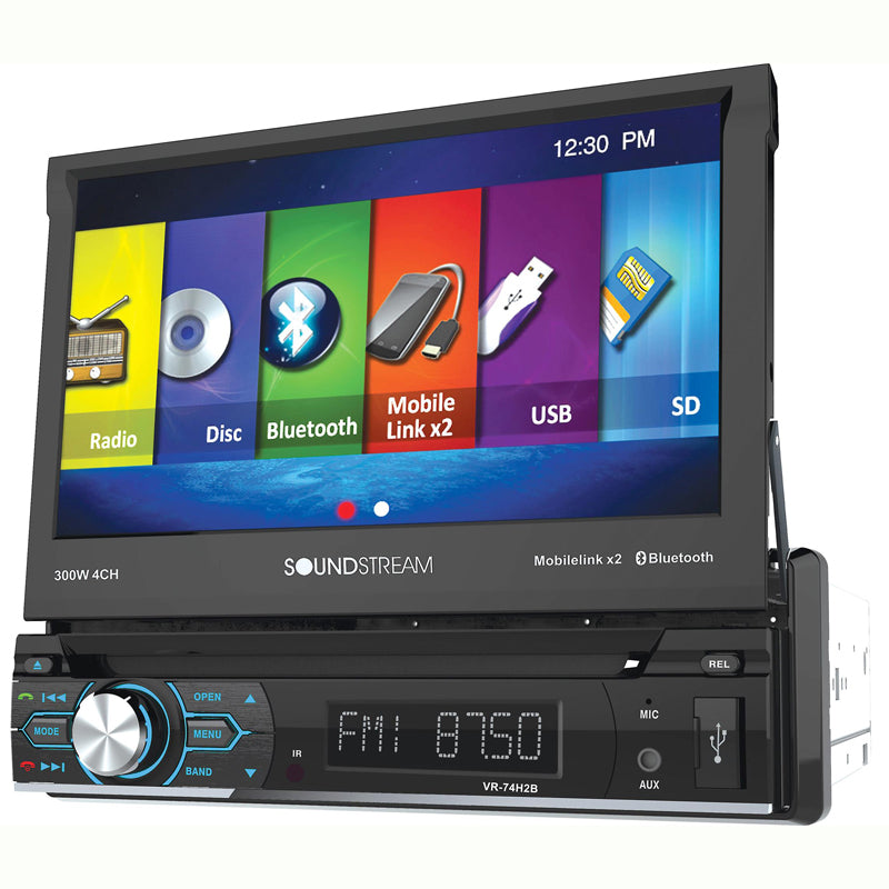 Soundstream VR-74H2B DVD receiver