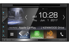 Kenwood DDX6704S Double DIN Android Auto, Apple CarPlay In-Dash DVD/CD/AM/FM Car Stereo Receiver