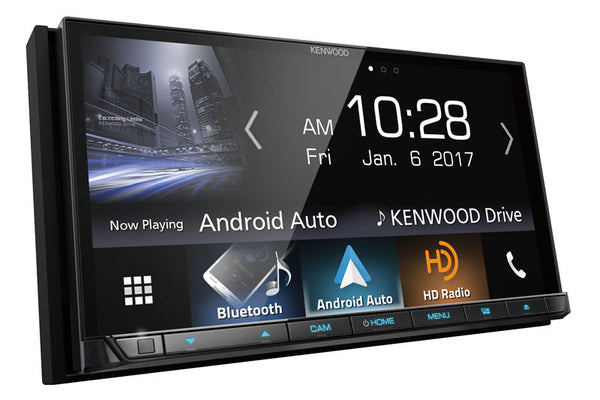 Kenwood DDX9704S Double DIN Android Auto, Apple CarPlay In-Dash DVD/CD/AM/FM Car Stereo Receiver