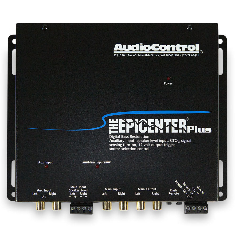 AudioControl The Epicenter Plus (Black)