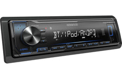 Kenwood KMM-BT222U Single DIN Bluetooth In-Dash Digital Media Car Stereo Receiver
