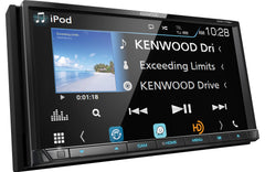 Kenwood DDX775BH Double DIN Bluetooth In-Dash DVD/CD/AM/FM Car Stereo Receiver w/ Weblink, Pandora and Spotify