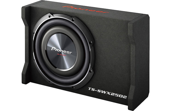 Pioneer TS-SWX2502 Sealed enclosure with 10 Inch TS-SW2502S4 subwoofer