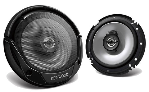 Kenwood KFC-1666S 600W Max 60W RMS 6.5 Inch KFC 2-Way Coaxial Car Speakers