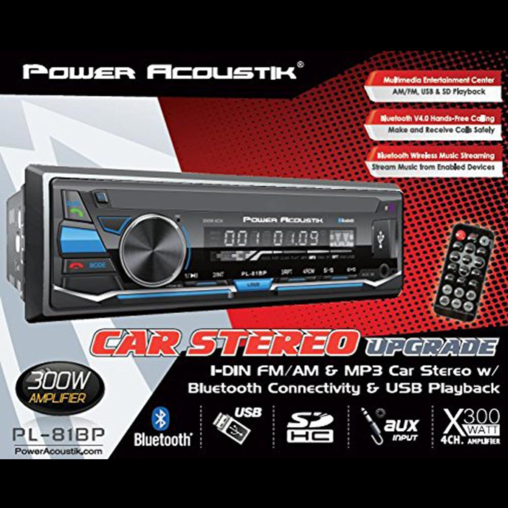Power Acoustik PL-81BP