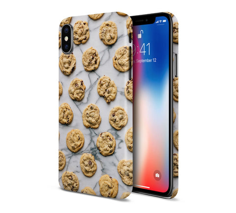 Marble Chocolate Chip Cookies Phone Case