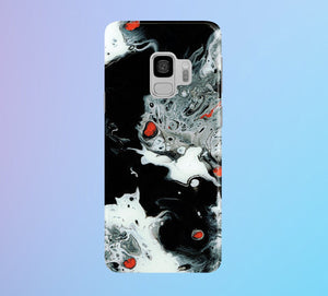Abstract Volcano Aerial Phone Case