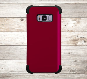 Solid Color Burgundy Phone Case