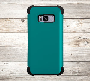 Solid Color Teal Phone Case