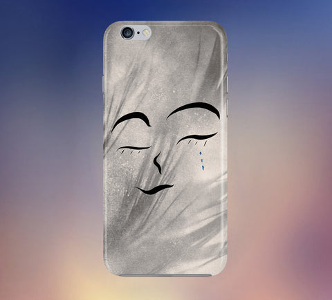 Cry Abstract Tears Phone Case