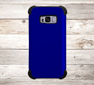 Solid Color Navy Blue Phone Case