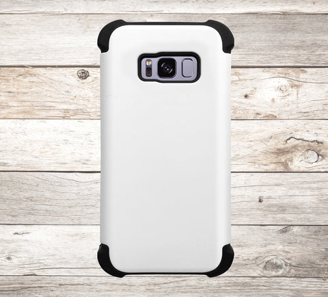 Solid Color White Phone Case
