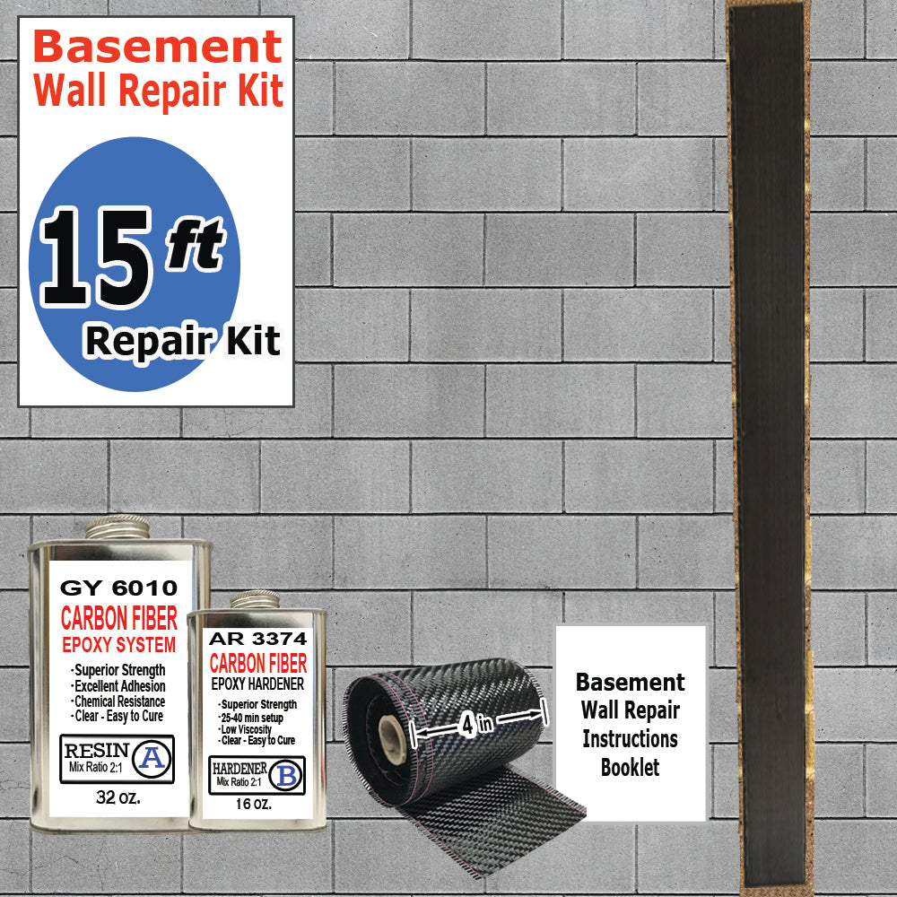 15-FT BASEMENT WALL REPAIR KIT