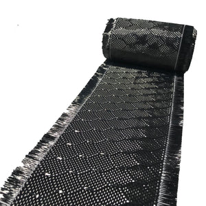 WASP Weave - CARBON FIBER Fabric - 12 in x 5 ft - 220g/m2 - 3K TOW