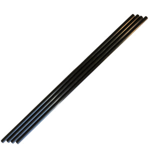 Pultruded Carbon Fiber Tubing  - 3mm x 1.5mm x 1000mm - High Strength