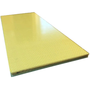 (1) Kevlar Plate - 100mm x 250mm x 6mm Thick - 100% Kevlar Plain Weave -High Gloss Surface (1) Plate