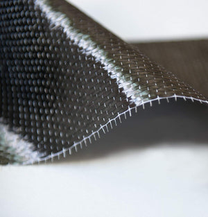 "CARBON FIBER - 12K TOW - 25 ft. x 4"" in. - High Strength Fabric"