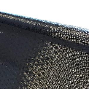 39 in x 25 FT - WASP - Carbon Fiber Fabric - Wasp Weave-3K - 220g-Black