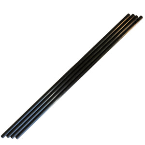(1) Piece - 8mm x 6mm x 1000mm Carbon Fiber Tube - Pultruded Round Tube. Super High Strength for RC Hobbies, Drones, Special Projects