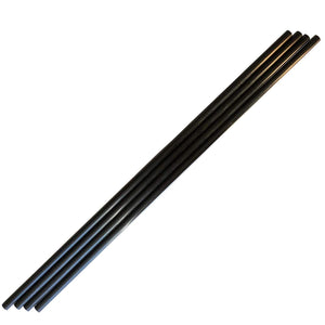 (2) Pieces - 8mm x 6mm x 1000mm Carbon Fiber Tube - Pultruded Round Tube. Super High Strength for RC Hobbies, Drones, Special Projects