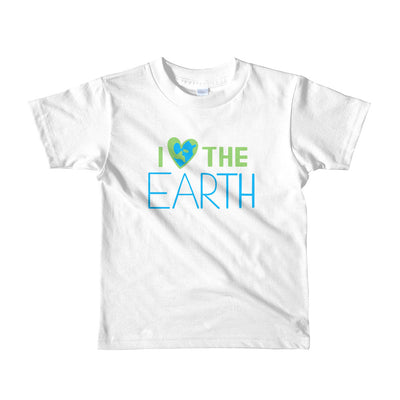 Kid's I ❤️the Earth t-shirt  - EIGHTO2 SHOP