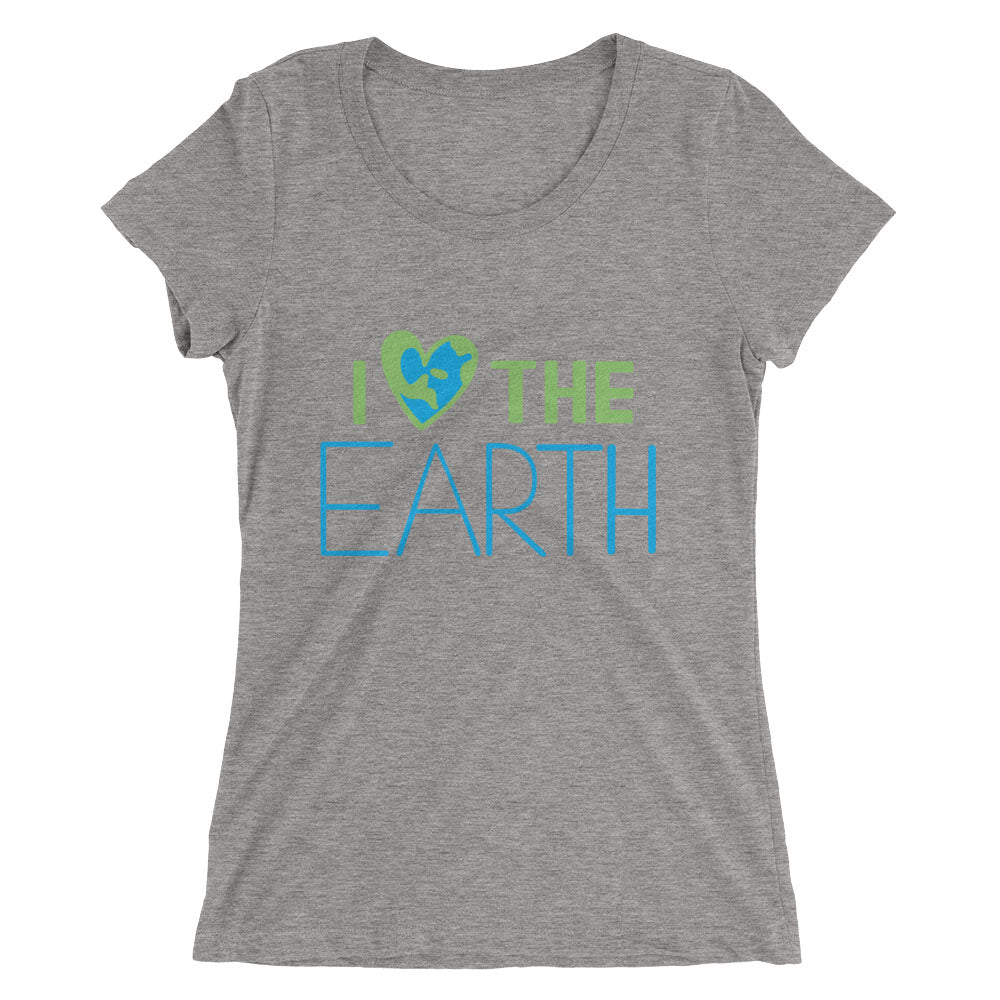 Women's I ❤️the Earth T-shirt  - EIGHTO2 SHOP