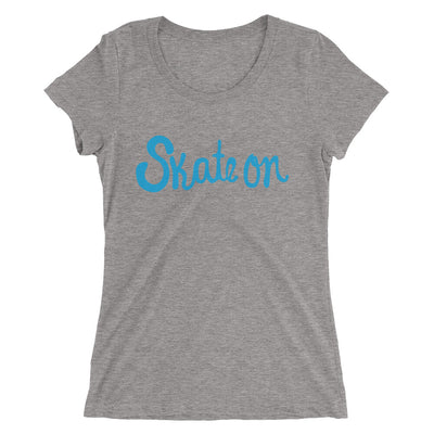 Women's SKATE ON t-shirt  - EIGHTO2 SHOP