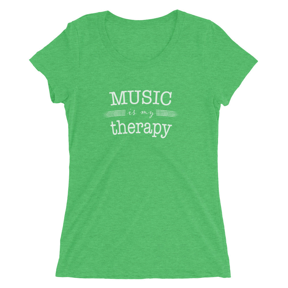 Women's Music is MY Therapy T-shirt  - EIGHTO2 SHOP