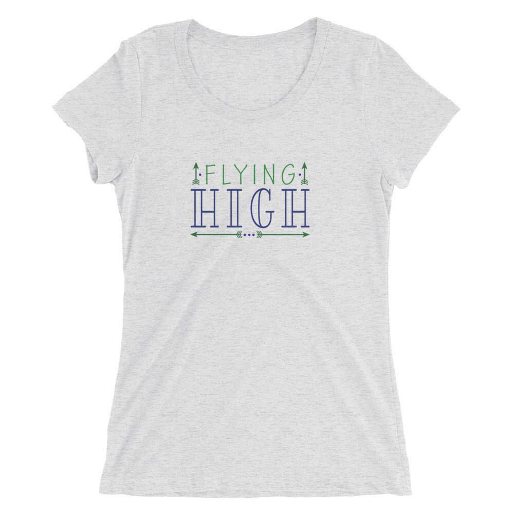 Women's Flying High T-shirt  - EIGHTO2 SHOP
