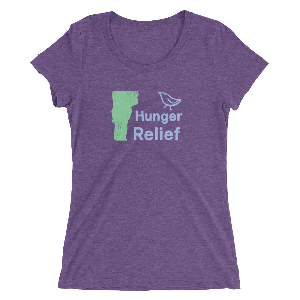 Women's Vermont Hunger Relief -Tshirt  - EIGHTO2 SHOP