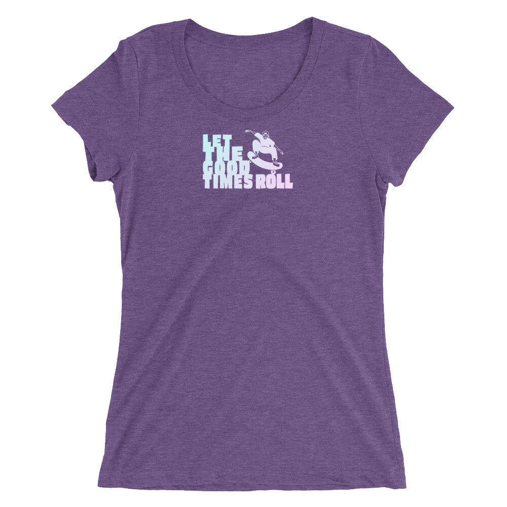 Women's Let The Good Times Roll T-shirt  - EIGHTO2 SHOP