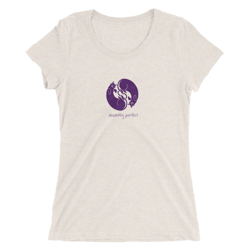 Women's Absolutely Purrfect T-shirt  - EIGHTO2 SHOP