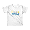 Kid's SAVE the Animals t-shirt