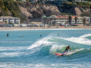 VIDEO: Malibu SUP Surf Session