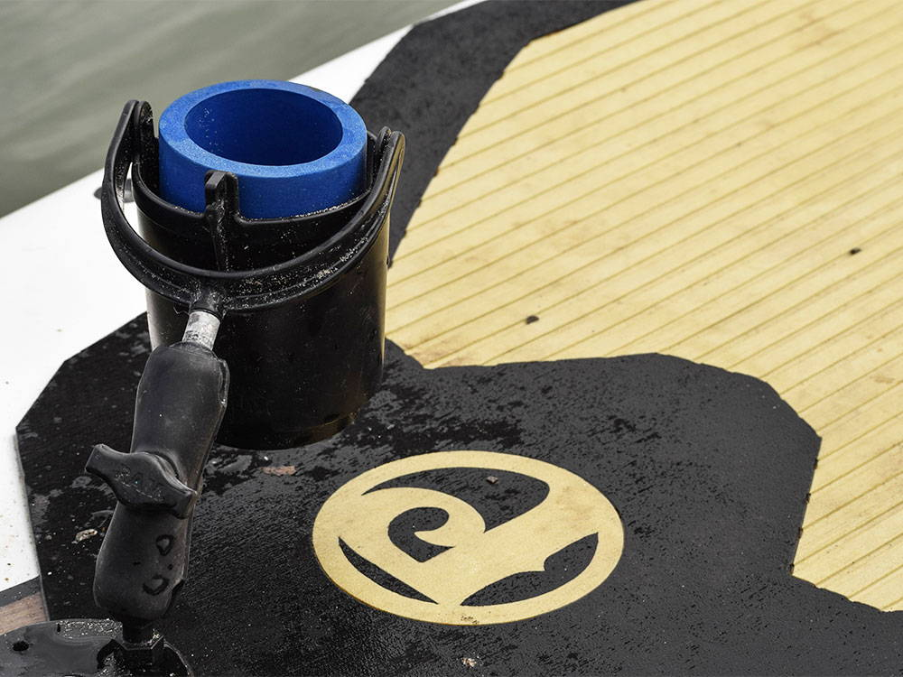 HOW TO: Install the Ram® Mount Cup Holder with a Double Socket Arm to a SeaMount® Base Plate