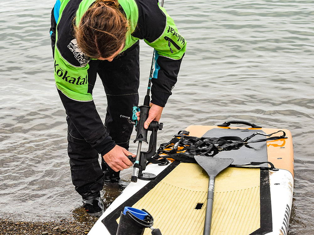 HOW TO: Install the Ram® Mount Revolution JR Rod Holder to a SeaMount® Base Plate