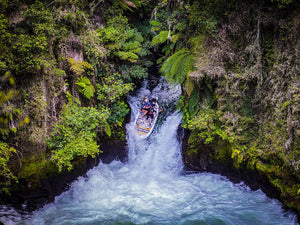 VIDEO: Riding A Waterfall On A Giant SUP