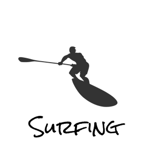 Surfing Paddle Boards logo