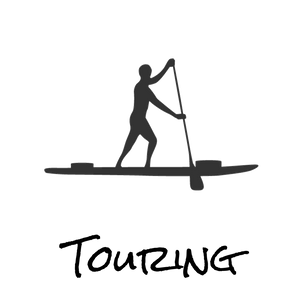 Touring paddle boards logo