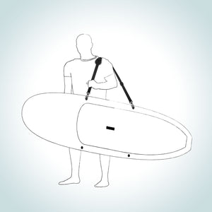 Pau Hana Kamba Stand Up Paddle Board Carry Strap Surf Supply