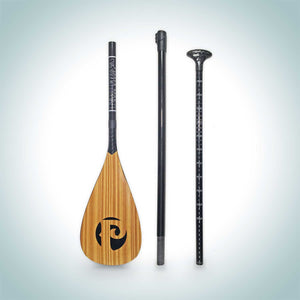 Pau Hana Carbon Teak 3-piece Paddle Paddles Surf Supply