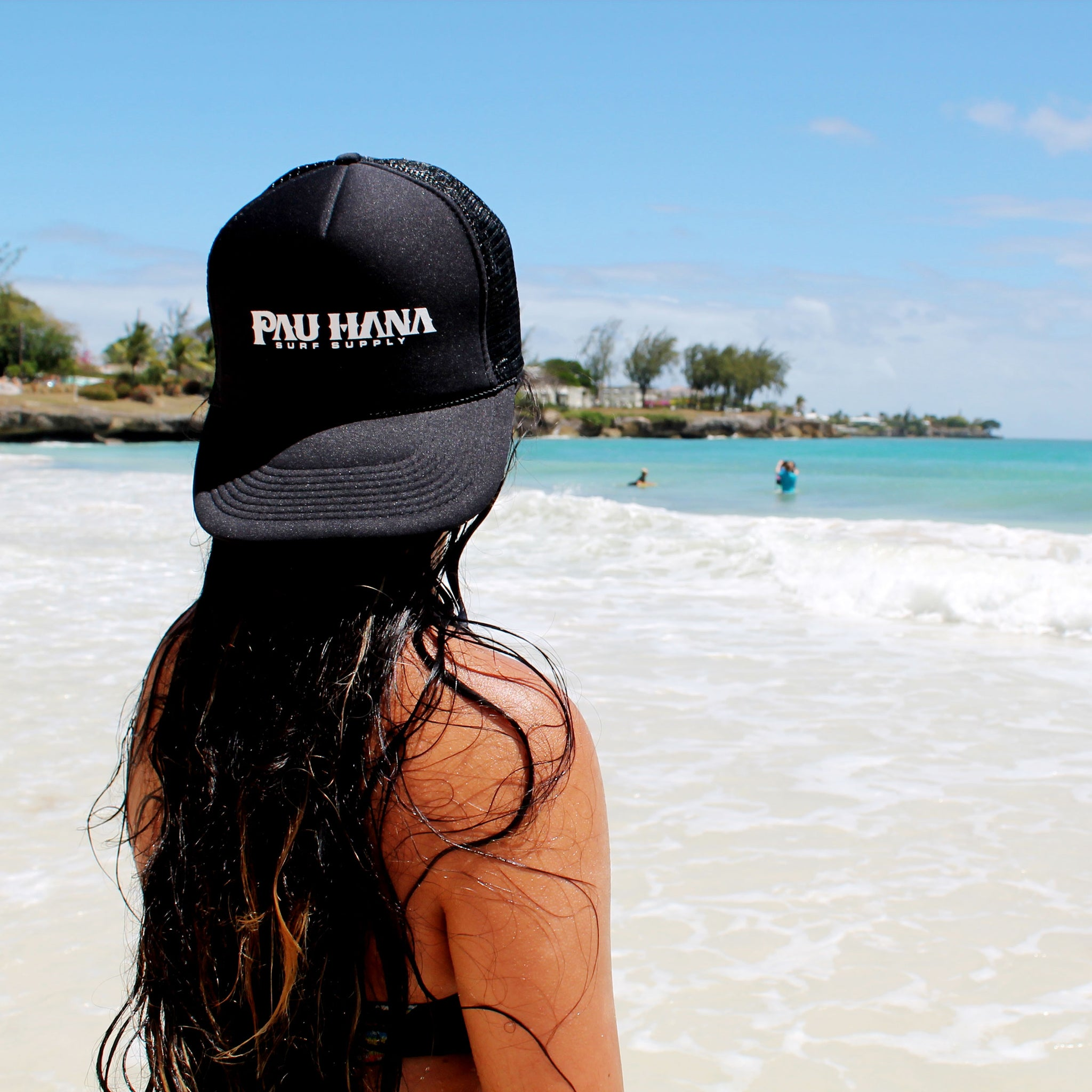 be4785d0e2899 Pau Hana Logo Hat Hats Surf Supply