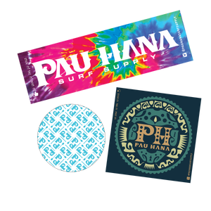 Pau Hana Sticker Pack Original Accessories Surf Supply